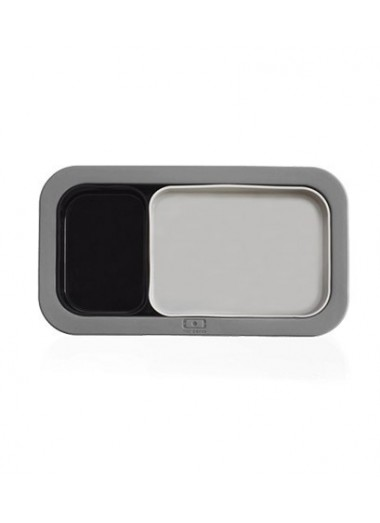 MB Silicase Gris + Negro