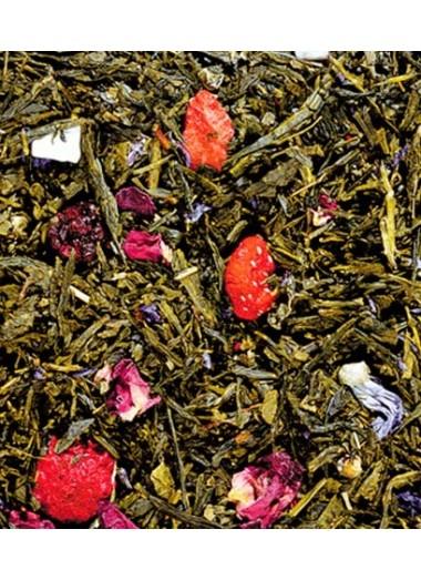 Té verde con fresas y moras silvestres - Comprar te online | Tea Sinensis
