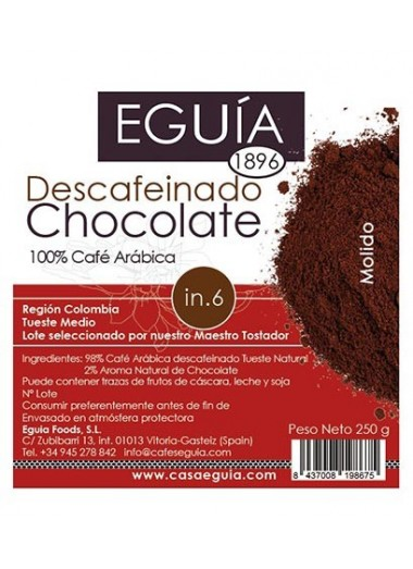 Café Descafeinado de Chocolate