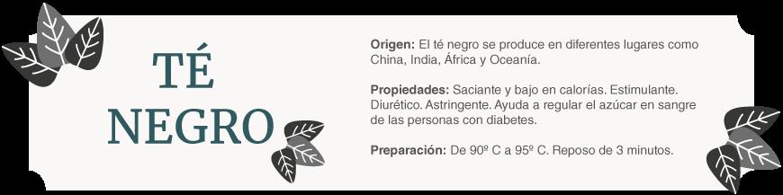 té negro | Tea Sinensis